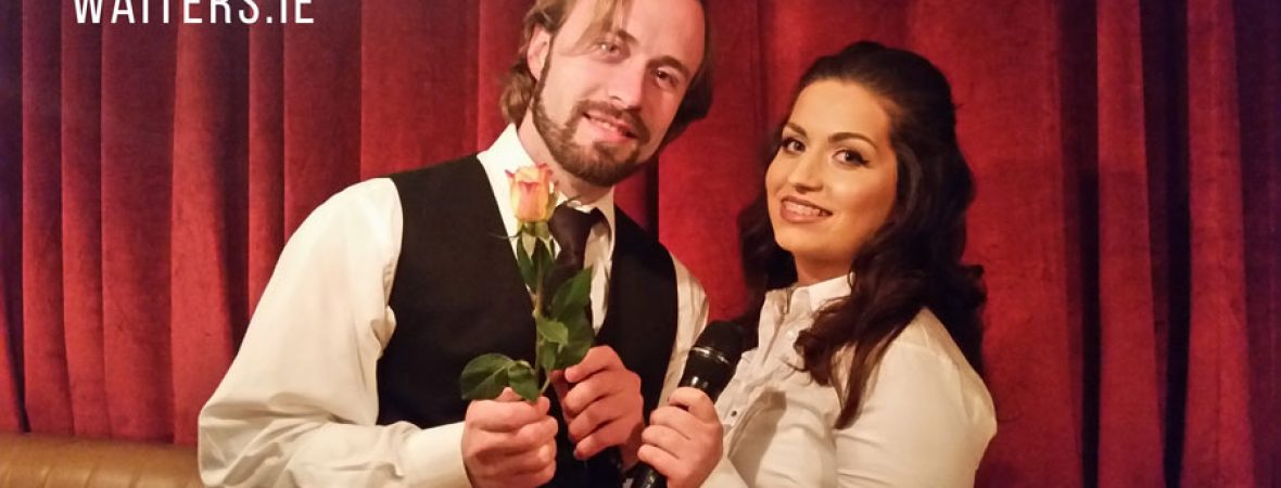 Singing Waiters Ireland with Irish Corporate Entertainment