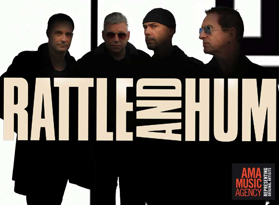 Rattle and Hum U2 tribute band best corporate entertainment