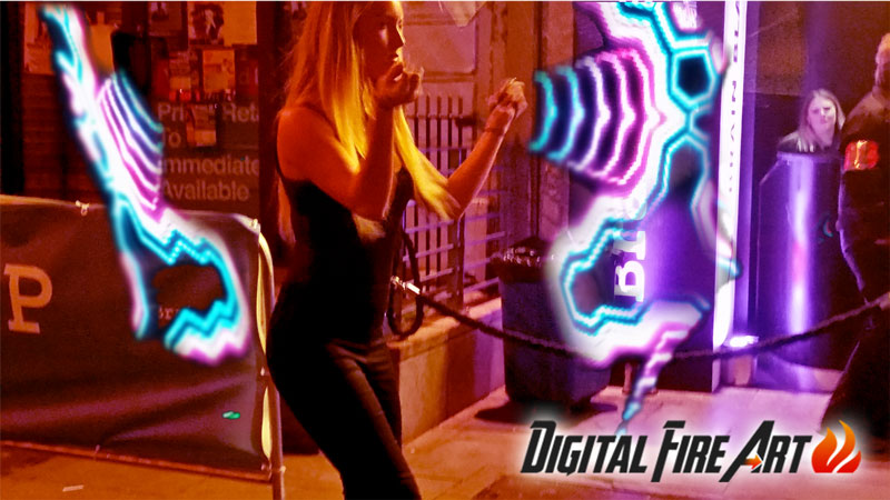 Irish Corporate Entertainment presents Digital Fire Art
